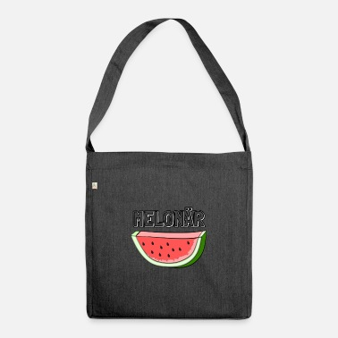 Ripe Ripe in experience - the melon millionaire - Shoulder Bag recycled
