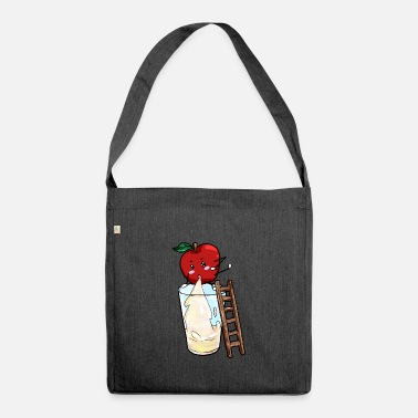 Apple Juice Apple saps apple juice - Shoulder Bag recycled