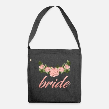 Bridesmaid Bride Bridesmaid Wedding / Gift Idea - Shoulder Bag recycled