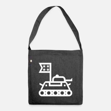 Bundeswehr Panzer Bundeswehr - Shoulder Bag recycled