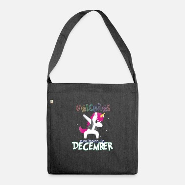 Born In Born Unicorns-Born December - Shoulder Bag recycled