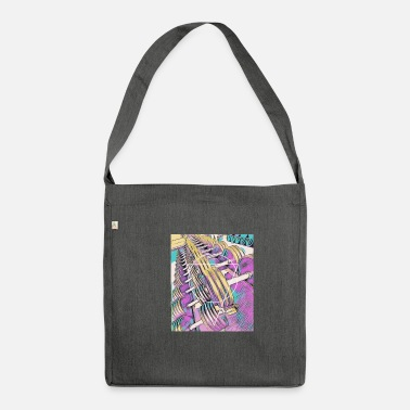 Abstract Fitness / gym / workout - Shoulder Bag recycled