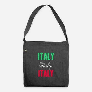 Italy Italy Italy Italy - Shoulder Bag recycled