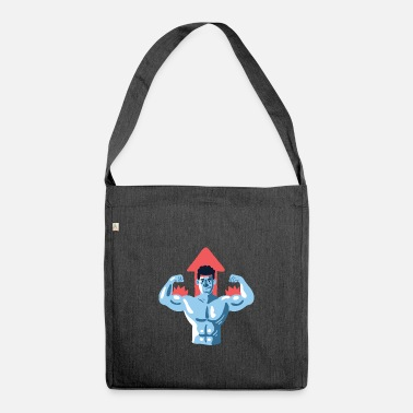 Muscleman muscleman - Shoulder Bag recycled