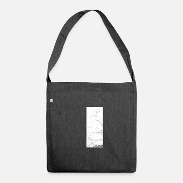 Rectangle rectangle - Sac bandoulière recyclé