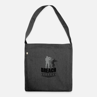 Breaching security breach - Shoulder Bag recycled
