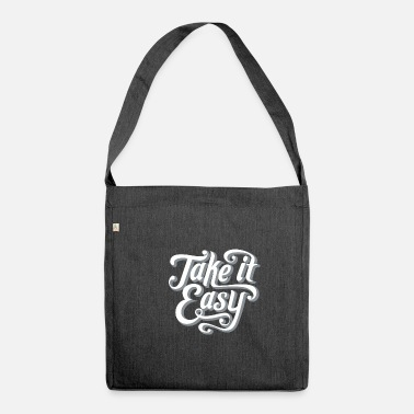 Take Take It Easy - Borsa a tracolla riciclato