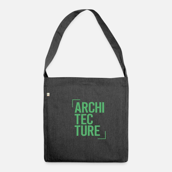Architect Bags & Backpacks - architect - Shoulder Bag recycled heather black