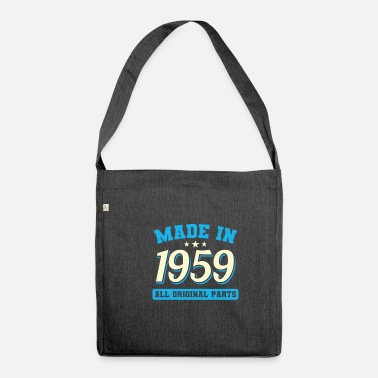 Birth 1959 year of birth - Shoulder Bag recycled