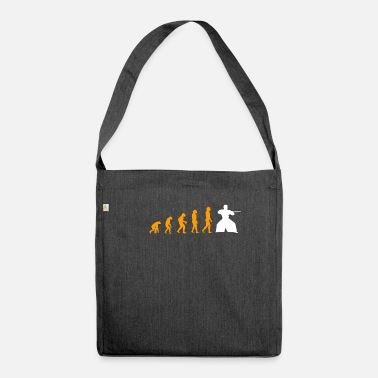 Aikido Evolution Of Aikido Epic Tea - Shoulder Bag recycled