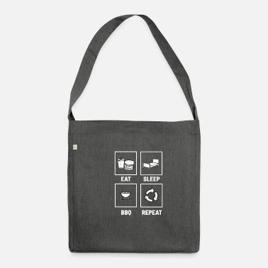 Grill Grilling Grillmaster grill grill - Shoulder Bag recycled