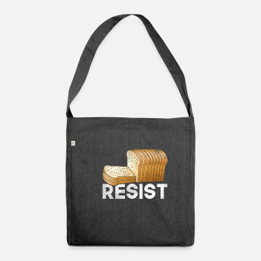 Disease Gluten disease - Shoulder Bag recycled