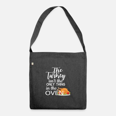 Oven Bun in the oven - Shoulder Bag recycled