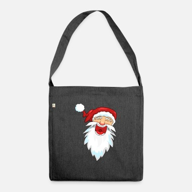 Claus Santa Claus Santa Claus - Shoulder Bag recycled