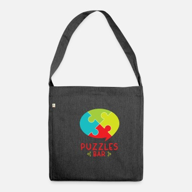 Magic Cool Puzzles Bar gift - Shoulder Bag recycled