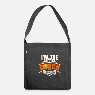 Basketball Coach Basketball coach coach - Shoulder Bag recycled
