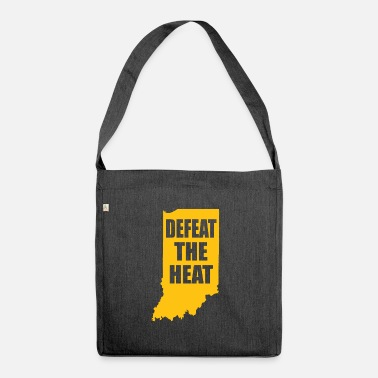 Defeat Defeat the heat - Shoulder Bag recycled
