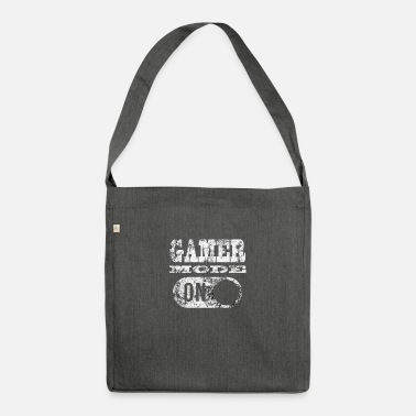Gamer GAMER MODE ON! GAMER GAMER GAMER GAMER GAMER - Shoulder Bag recycled