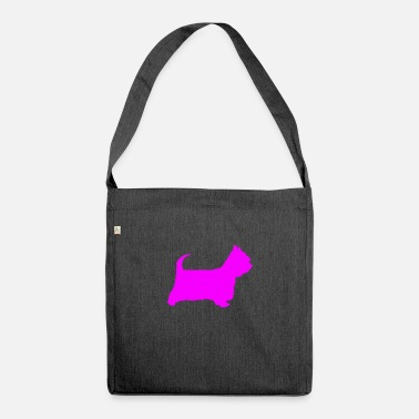 Doggie School doggy - Shoulder Bag recycled