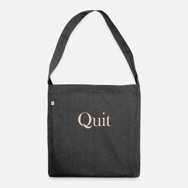 Feminims Quit - Shoulder Bag recycled