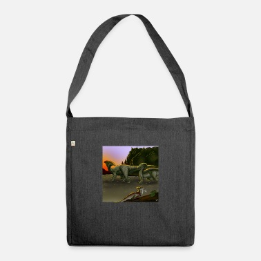 PARASAUROLOPHUS - Shoulder Bag recycled