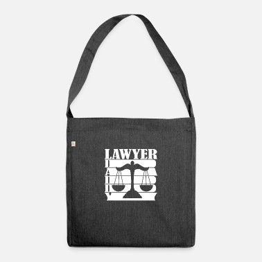 Author Lawyer attorney father saying gift - Shoulder Bag recycled