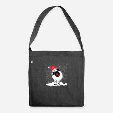 Black Sheep Quinn the Christmas sheep - Shoulder Bag recycled