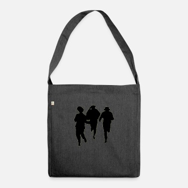 Male Dancer Dancers three male - Shoulder Bag recycled