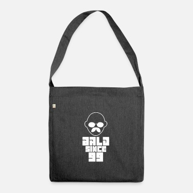 Bald Head bald head - Shoulder Bag recycled