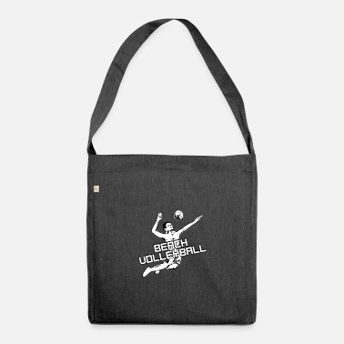 Beach Volleyball Beach volleyball - beach volleyball - volleyball - Shoulder Bag recycled
