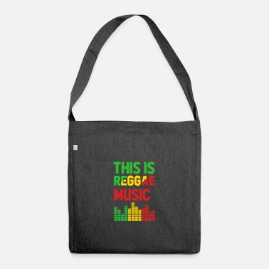 Reggae Music This is Reggae Music - Shoulder Bag recycled