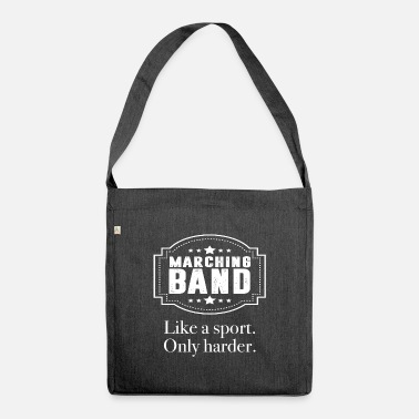 Percussion Percussion musician - Shoulder Bag recycled