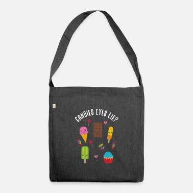 Candy Candy Candy pun - Shoulder Bag recycled