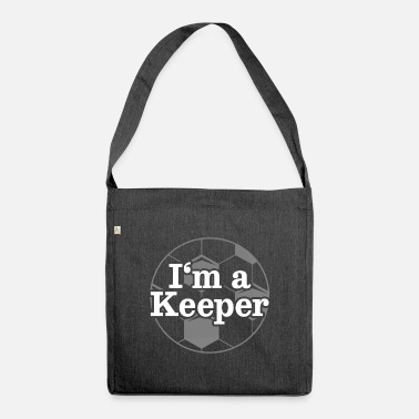 Goalkeeper Goalkeeper Goalkeeper Keeper - Shoulder Bag recycled