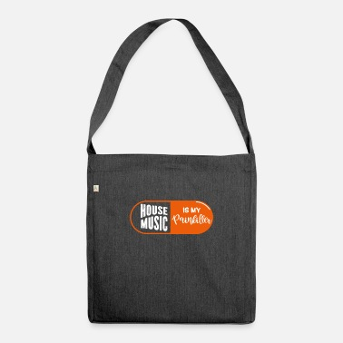 House Music House music - Shoulder Bag recycled