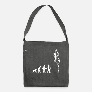Climbing Climbing bouldering sport climbing mountains gift - Shoulder Bag recycled