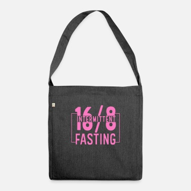Fast Intermittent fasting fasting - Shoulder Bag recycled