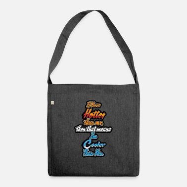 Funny Quotes funny quote - Shoulder Bag recycled