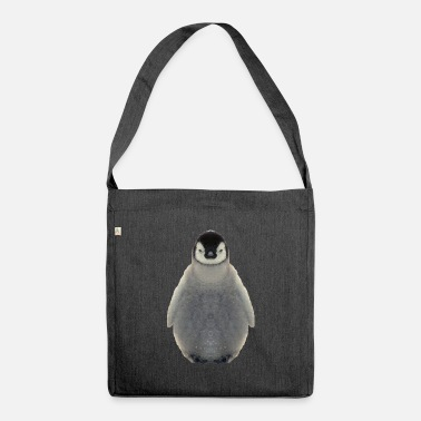 Penguins penguin seabird sea animal vertebrate - Shoulder Bag recycled