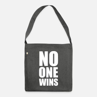 Relationship no one wins - Shoulder Bag recycled
