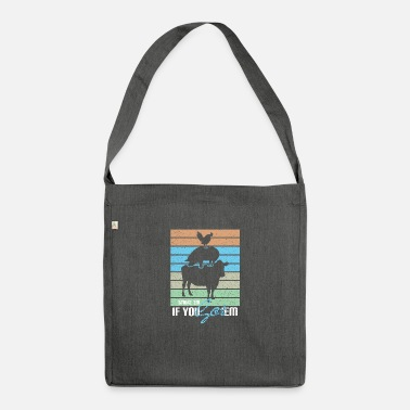 Hungry Smoke 'Em If You Got' Em - Meat Lover Gift - Shoulder Bag recycled
