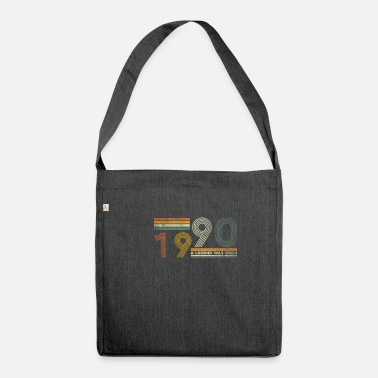 30 1990 A Legend Was Born 30th birthday - Shoulder Bag recycled