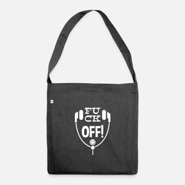 Leible Fuck off! Leibl Designs - white - Shoulder Bag recycled