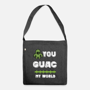Guacamole guacamole - Shoulder Bag recycled