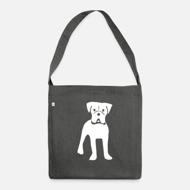 Boxer boxer - Shoulder Bag recycled