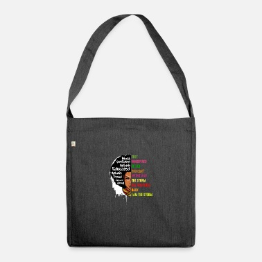 Whats I Am The Storm African American Civil Rights Peace - Shoulder Bag recycled