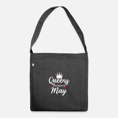 May May gift may queen - Shoulder Bag recycled