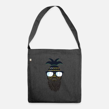 Glass Underwear Funny perfect hipster pineapple - Shoulder Bag recycled