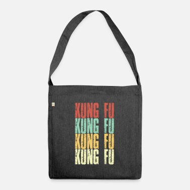 Wing Kung Fu Wing Chun Vintage - Shoulder Bag recycled