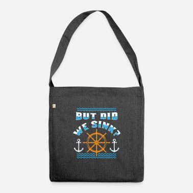 Cruise Funny cruise boat ship shirt gift - Shoulder Bag recycled